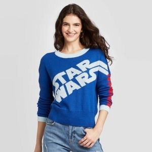 NWOT Star Wars Color Block Graphic Sweater